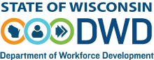 Department of Workforce Development Logo and Link to the DWD Homepage